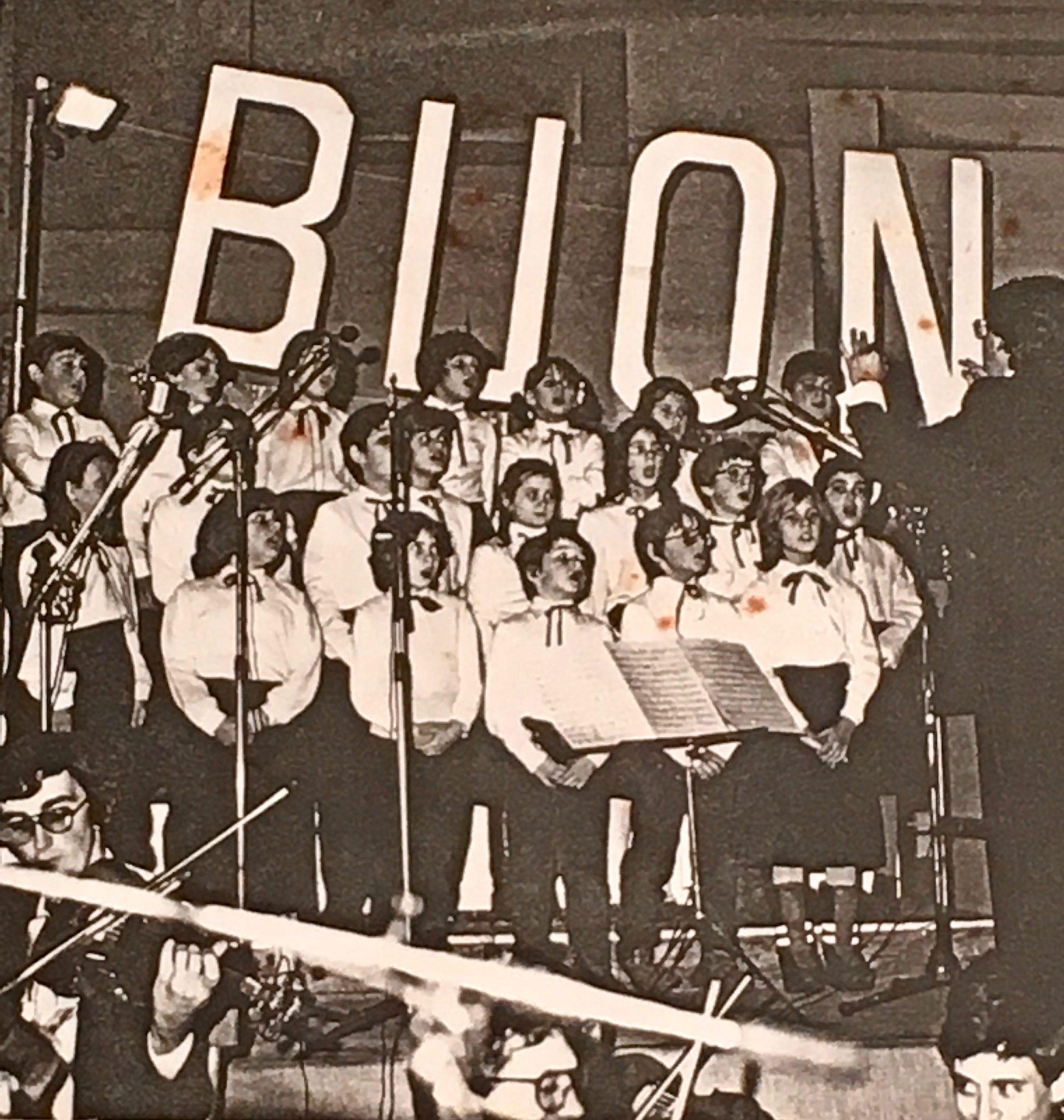 Coro voci bianche Ovada 1983