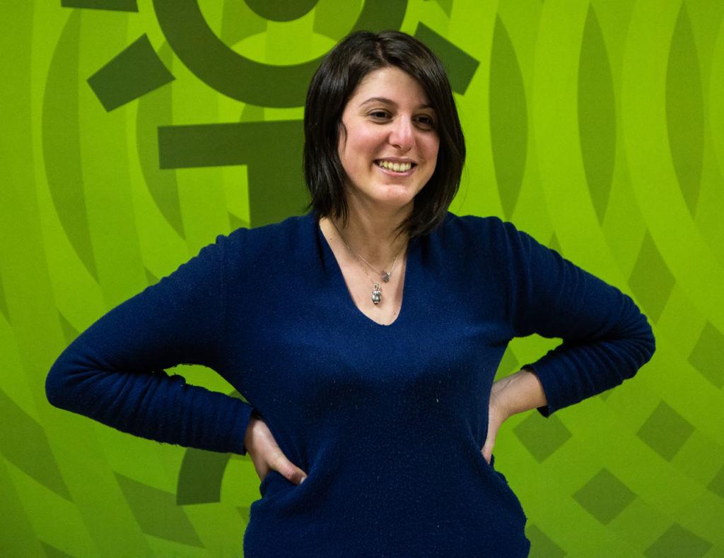 Elisa Zunino - Collaboratrice Carlo Chiddemi nei laboratori AF LAvagnino