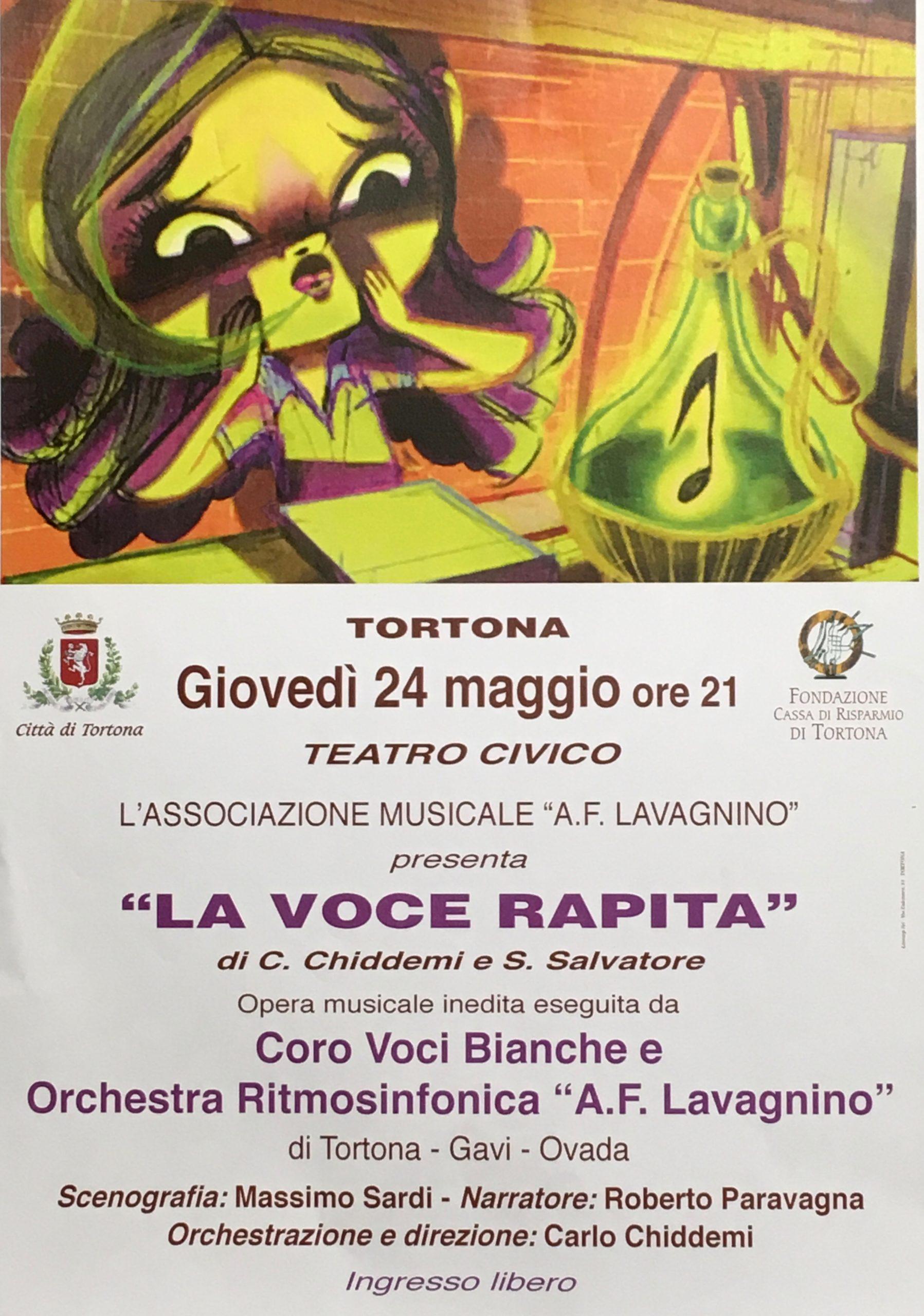 La voce rapita - Teatro Civico Tortona