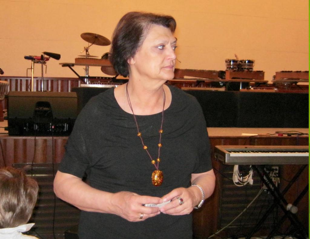 Ileana Rezzani - Collaboratrice Carlo Chiddemi nei laboratori AF LAvagnino