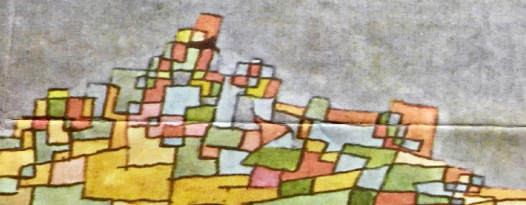 Le colline di Klee - Dettaglio