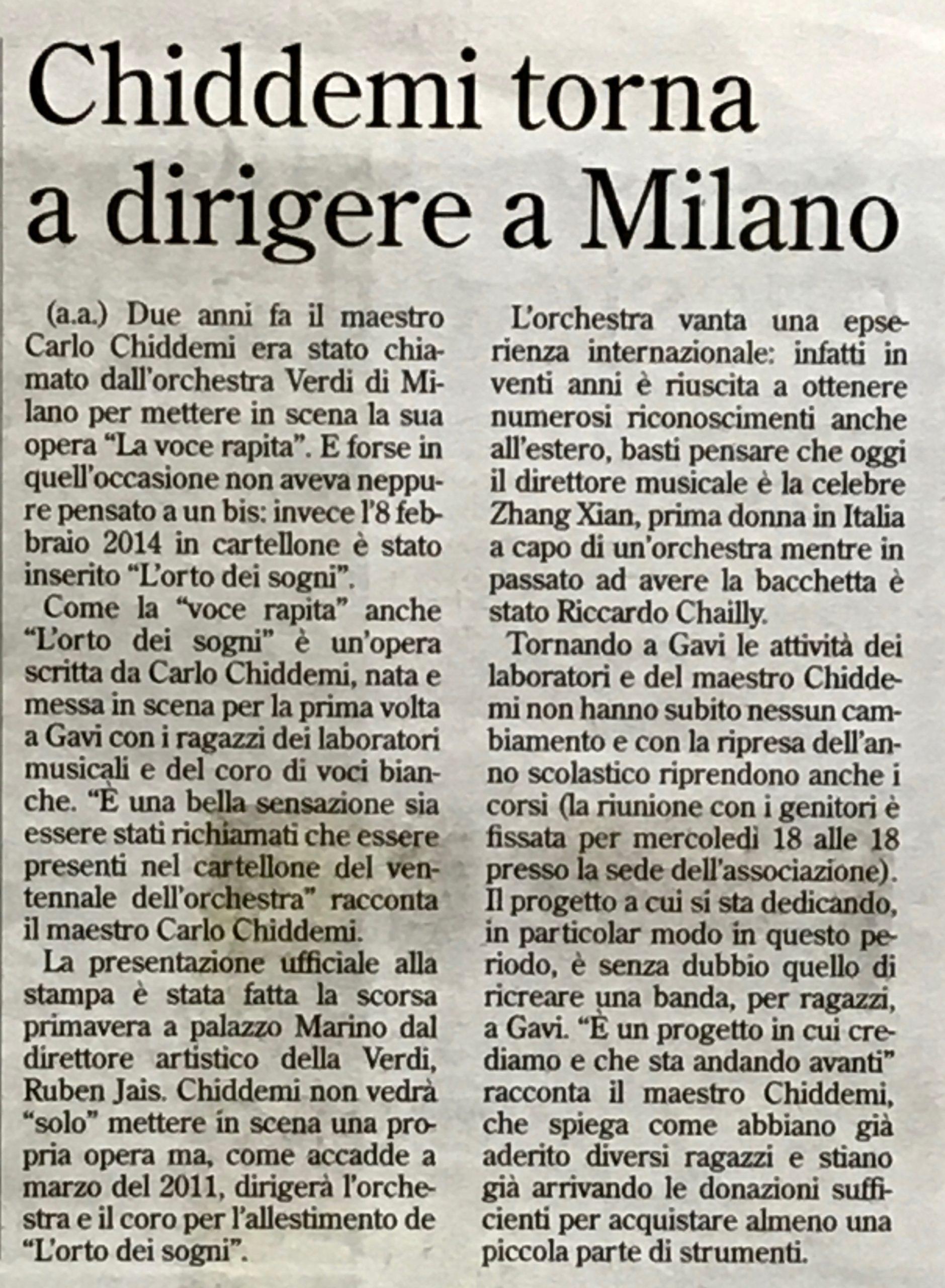 L'orto dei sogni a Milano